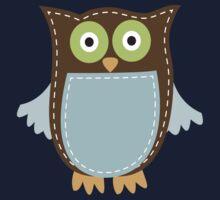 Cute Owl One Piece - Long Sleeve