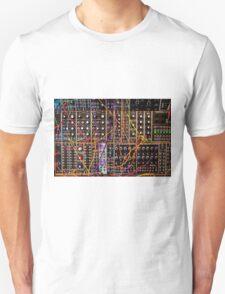 Moog Modular Synthesizer Control Panel T-Shirt