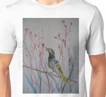 Regent Honeyeater - Endangered Australian Bird Unisex T-Shirt