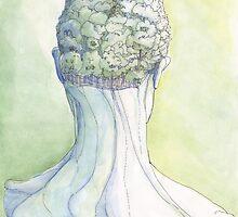 """""""Il Cervello Verde"""" by Luca Massone  disegni"""