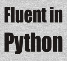 Fluent in Python - Black on Blue for Python Programmers One Piece - Long Sleeve