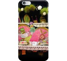 Teaparty 01 iPhone Case/Skin
