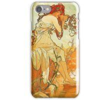Alphonse Mucha - Summer iPhone Case/Skin