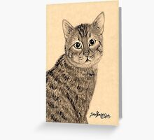 Teenage Bengal Greeting Card