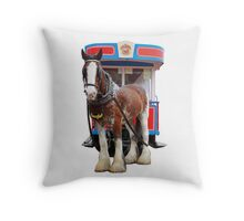 The Royal Tram Throw Pillow