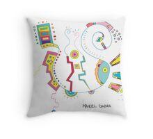 Manuel Gondra - RedBubble Exclusive Illustration Throw Pillow