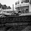 Enjoying the rain by Gamal  Istiyanto