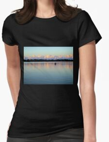 Calm Before the Storm Womens Fitted T-Shirt