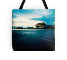 Tian An Men Square  Tote Bag