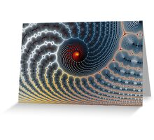 An Uncommon Spiral Greeting Card