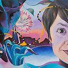 BACK IN SA! Portrait of Claudia. (SOLD) by Tatyana Binovskaya