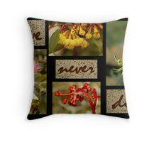 LOVE NEVER DIES Throw Pillow