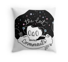The Lost Cosmonauts Throw Pillow