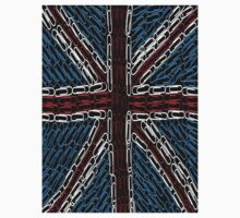 The Union Jack of Paper Clips! Kids Tee