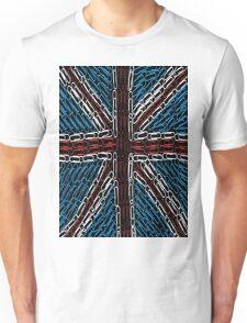 The Union Jack of Paper Clips! Unisex T-Shirt