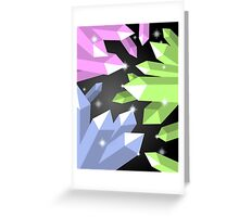 Crystal Cave of Wonder Greeting Card