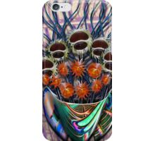 Reflector Flowers in the Wall Vase iPhone Case/Skin