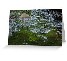 Triangle Rock Greeting Card