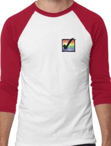 Gay? Tick! Men's Baseball ¾ T-Shirt