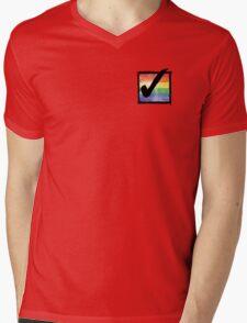 Gay? Tick! Mens V-Neck T-Shirt