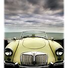 """MG MGA..........""""first of a new line"""". by Mal Bray"""