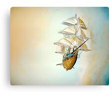 RLS Legacy (Treasure Planet) Canvas Print