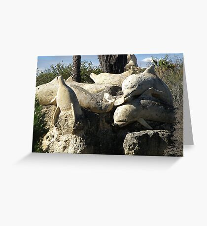 Memories Carved in Stone Greeting Card