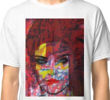 Cardboard Fashion Girl Classic T-Shirt