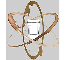 Coffee Atom Photographic Print
