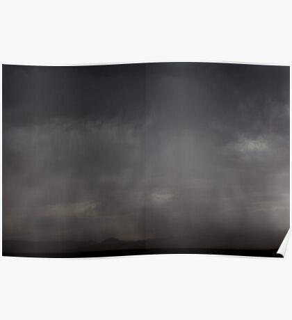 Dust Storm at Horseshoe Bend, Page, AZ - IV Poster