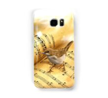 """Why the nightingale sings?"" Samsung Galaxy Case/Skin"