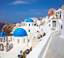 Oia Santorini by Paul Thompson Photography