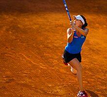 Agnieszka Radwańska @ Roland Garros by johanlb