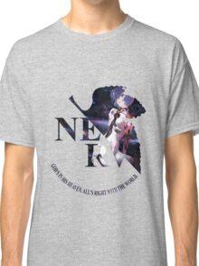 neon genesis evangelion rei ayanami anime manga shirt Classic T-Shirt