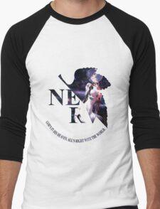 neon genesis evangelion rei ayanami anime manga shirt Men's Baseball ¾ T-Shirt