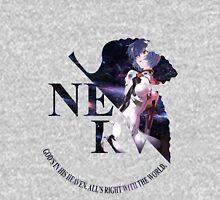 neon genesis evangelion rei ayanami anime manga shirt Womens Fitted T-Shirt