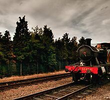 5542 at Loughborough by Aggpup