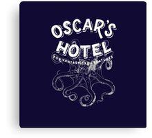 Oscar's Hotel Canvas Print