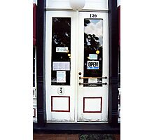 Jonesborough, Tennessee Main Street Shop Photographic Print