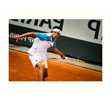 Mate Delic @ Roland Garros Art Print