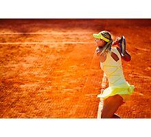 Maria Sharapova @ Roland Garros Photographic Print
