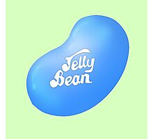 Jelly Belly Jelly Bean Design- Blueberry Photographic Print