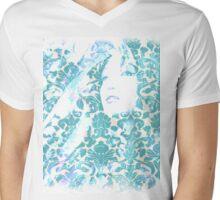 Hidden Geisha Mens V-Neck T-Shirt