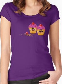 CUPCAKE CANNIBALS 2 Women's Fitted Scoop T-Shirt