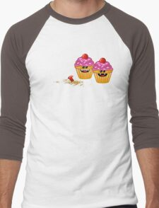 CUPCAKE CANNIBALS 2 Men's Baseball ¾ T-Shirt