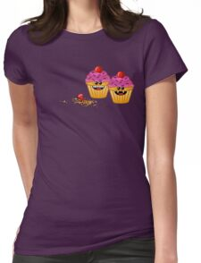 CUPCAKE CANNIBALS 2 Womens Fitted T-Shirt
