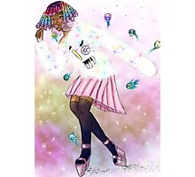 Comet Queen Kandi and her Dance Photographic Print