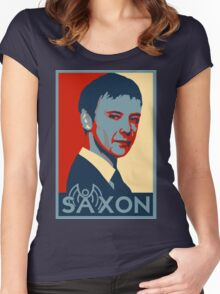 Saxon for PM Women's Fitted Scoop T-Shirt