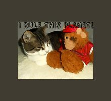"""I Rule This Planet"" Cat Vs Alf Puppet Unisex T-Shirt"