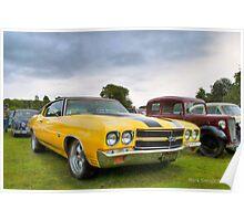 Chevelle Muscle Poster